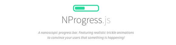jQuery插件:NProgress.js网页进度条插件