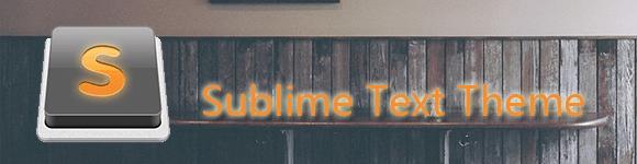 推荐1个Sublime Text 主题 Afterglow
